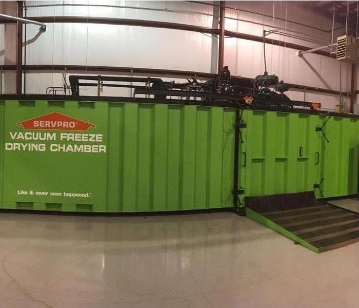 SERVPRO Freeze Drying Chamber