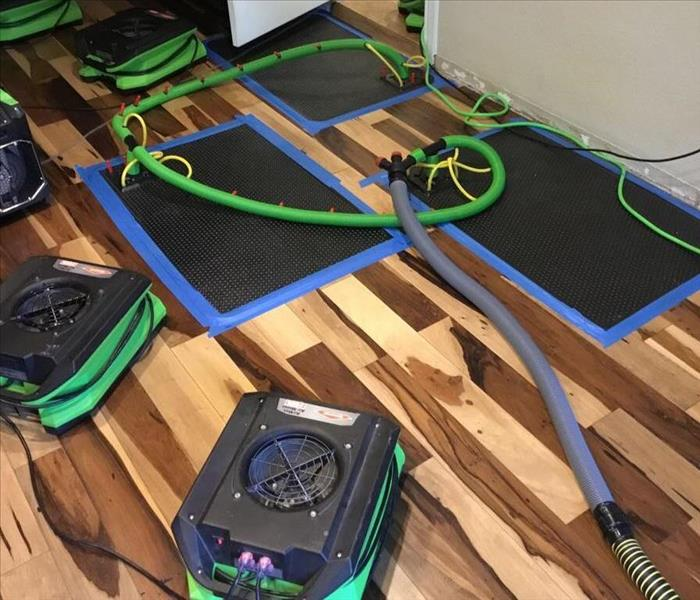 Floor Drying System