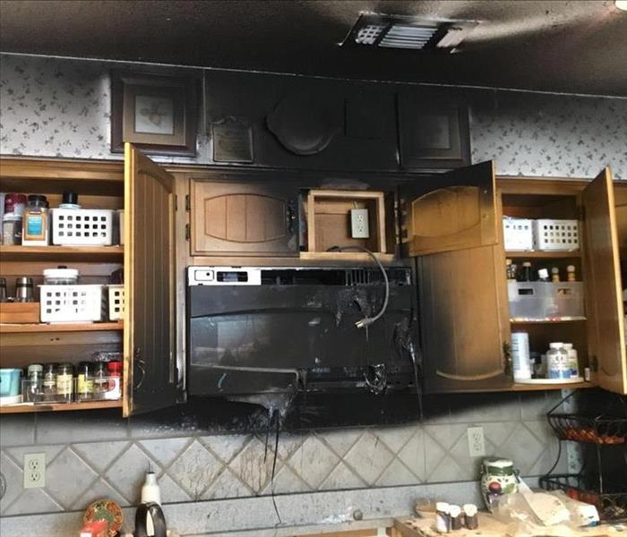 Kitchen Fire in North Central Home